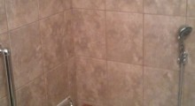 Custom tile shower - Tub replacement with acrylic base
