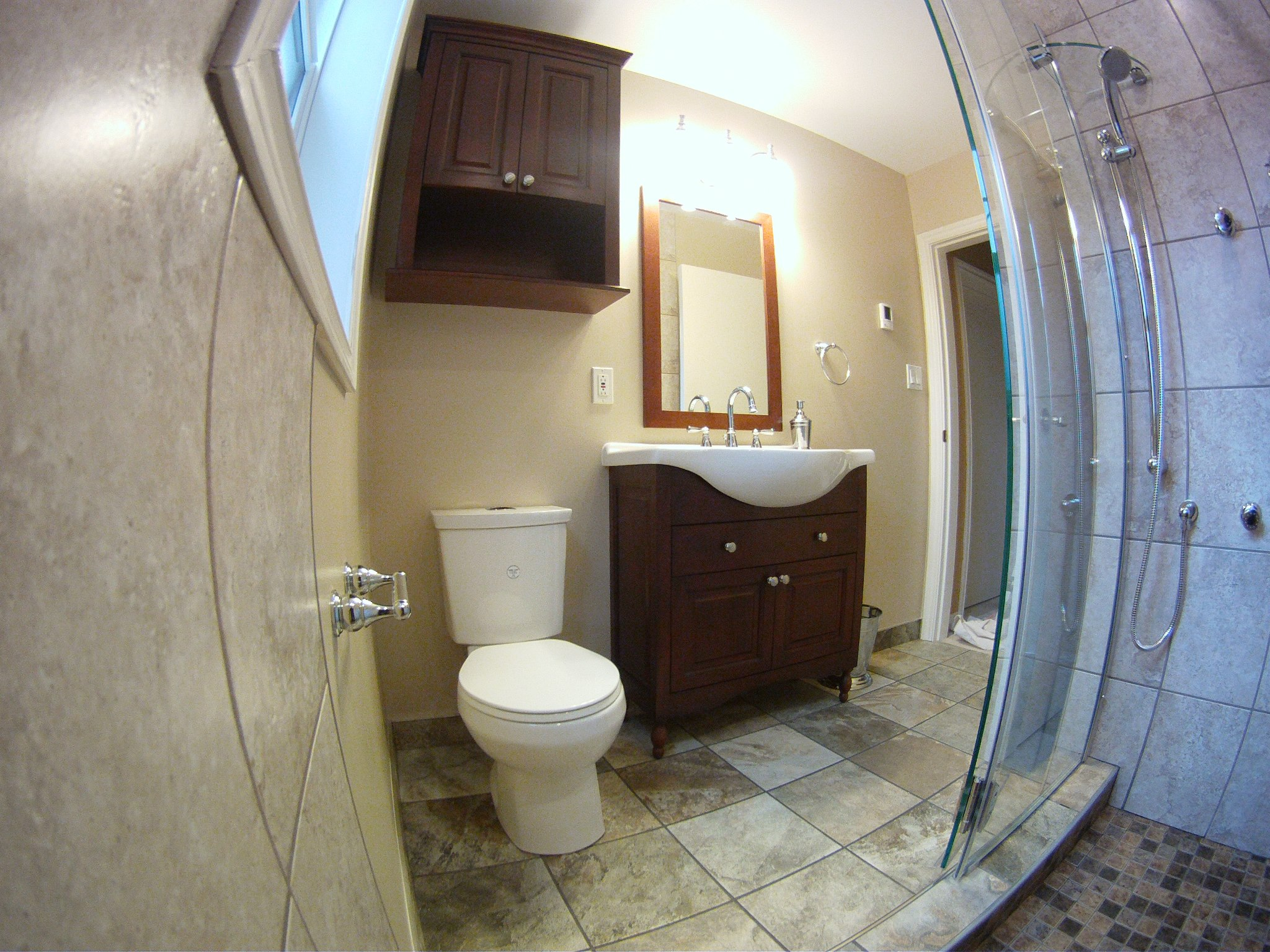 Renovations dch industries for Custom bathroom renovations